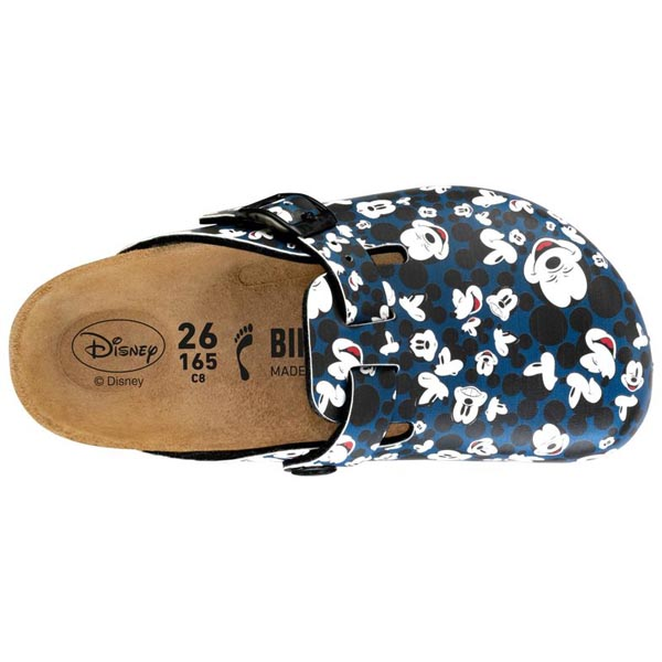 BIRKENSTOCK Boston Kids Funny Mickey Heads Blue  Outlet Store
