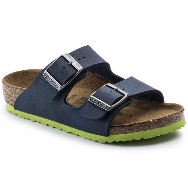 BIRKENSTOCK Arizona Kids Desert Soil Blue Birko-Flor Outlet Store