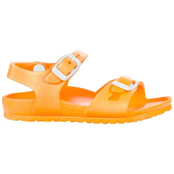 BIRKENSTOCK Rio Kids Essentials Neon Orange EVA Outlet Store