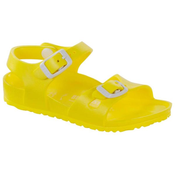 BIRKENSTOCK Rio Kids Essentials Neon Yellow EVA Outlet Store