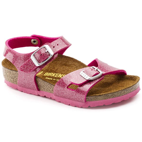 BIRKENSTOCK Rio Kids Magic Galaxy Bright Rose Birko-Flor Outlet Store