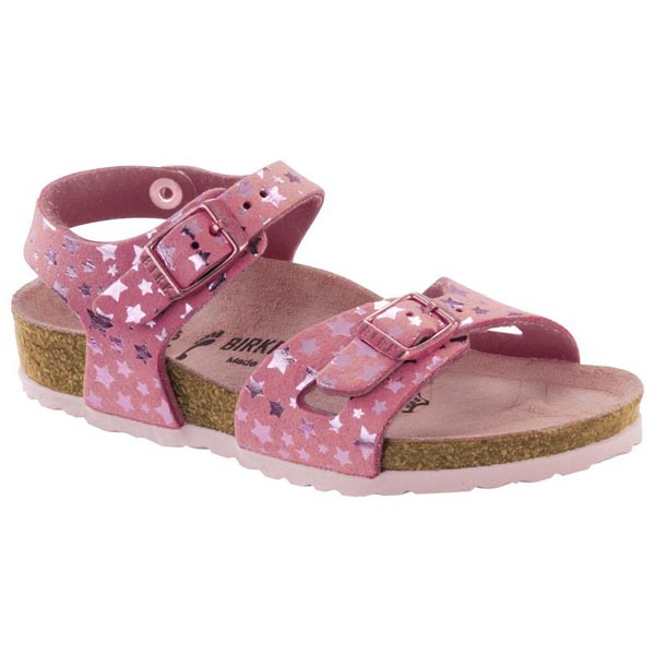 233b430a0ae US 91.38  BIRKENSTOCK Rio Kids Starry Sky Rose Microfiber Outlet Store