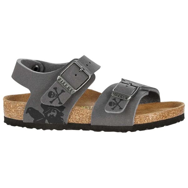 BIRKENSTOCK New York Kids Pirat Iron Hand Gray Birko-Flor Outlet Store