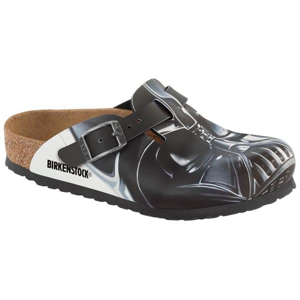 a4b8d9de67c611 BIRKENSTOCK Boston Kids Star Wars Darth Vader Big Head Birko-Flor Nubuck  Outlet Store