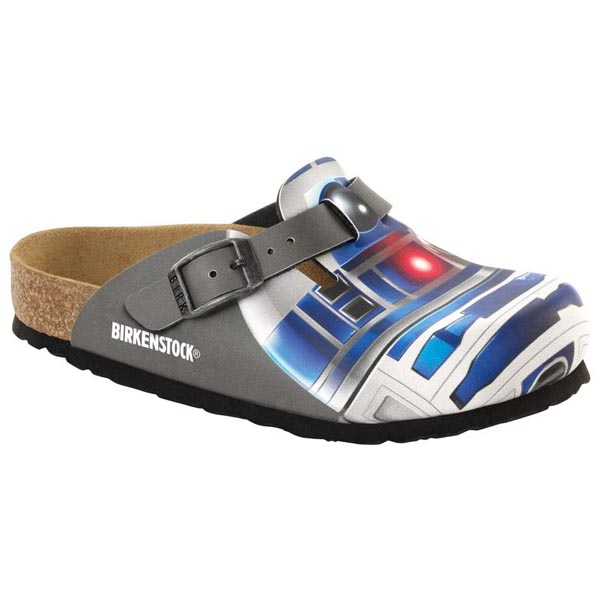 BIRKENSTOCK Boston Kids Star Wars R2D2 Birko-Flor Nubuck Outlet Store