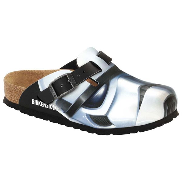 BIRKENSTOCK Boston Kids Star Wars Stormtrooper Big Head Birko-Flor Nubuck Outlet Store