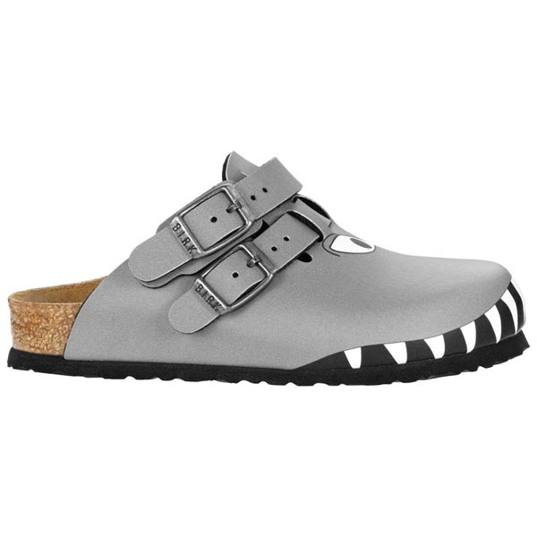 BIRKENSTOCK Kay Kids Shark Head Gray Birko-Flor Outlet Store