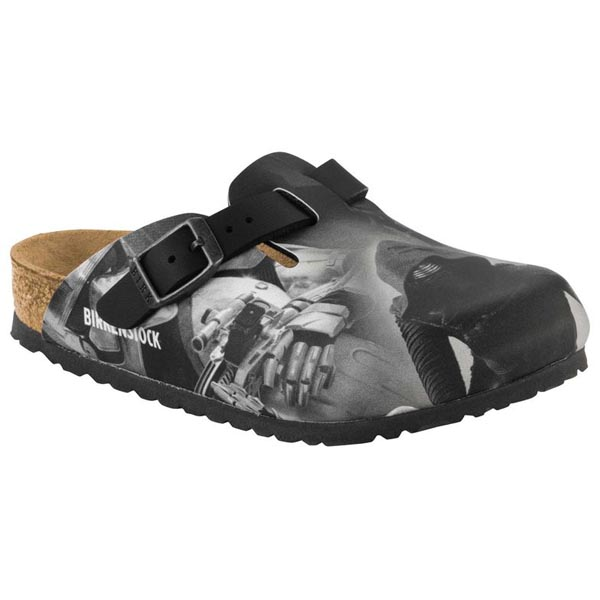 BIRKENSTOCK Boston Kids Kylo Ren Black Birko-Flor Outlet Store
