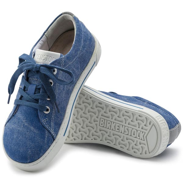 BIRKENSTOCK Arran Kids Blue Textile Outlet Store