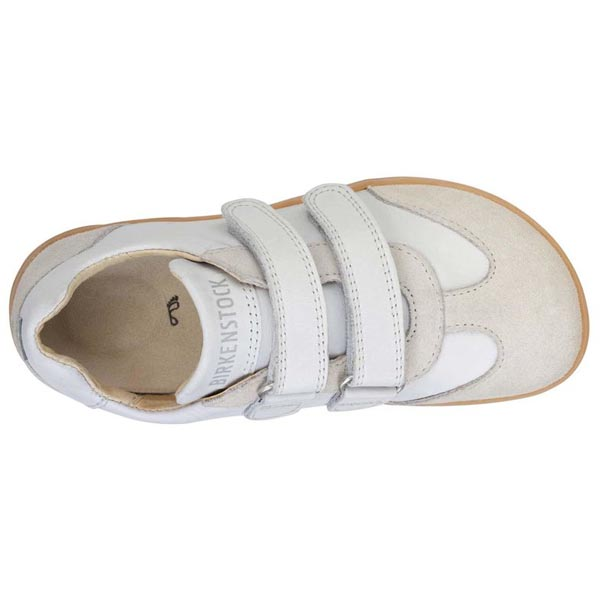BIRKENSTOCK Davao White Mixed Leather Outlet Store