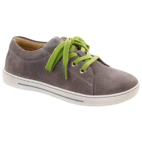 BIRKENSTOCK Arran Kids Grey Suede Outlet Store