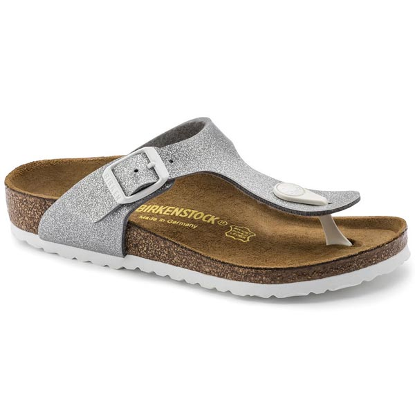 BIRKENSTOCK Gizeh Kids Magic Galaxy Silver Birko-Flor Outlet Store