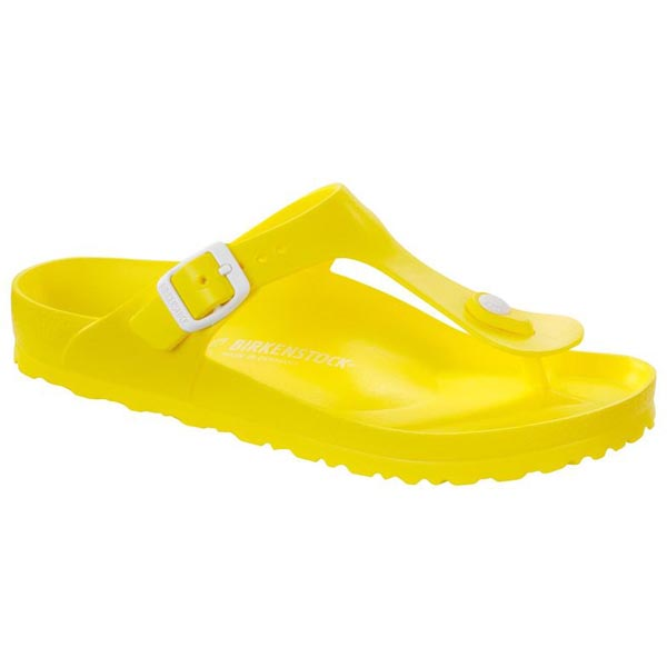 BIRKENSTOCK Gizeh Kids Essentials Neon Yellow EVA Outlet Store