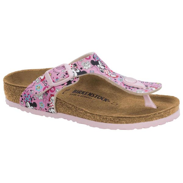 BIRKENSTOCK Gizeh Kids Lovely Minnie Rose Birko-Flor Outlet Store