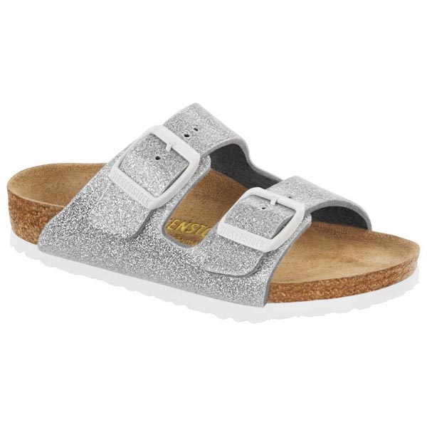 BIRKENSTOCK Arizona Kids Magic Galaxy Silver Birko-Flor Outlet Store