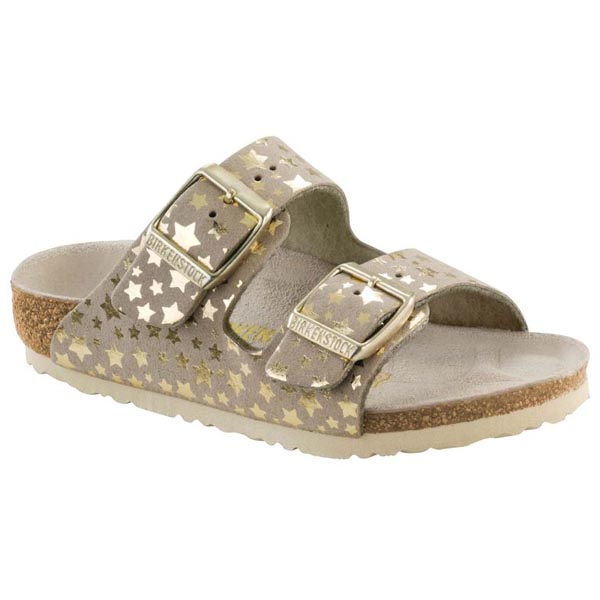 BIRKENSTOCK Arizona Kids Starry Sky Gold Microfiber Outlet Store