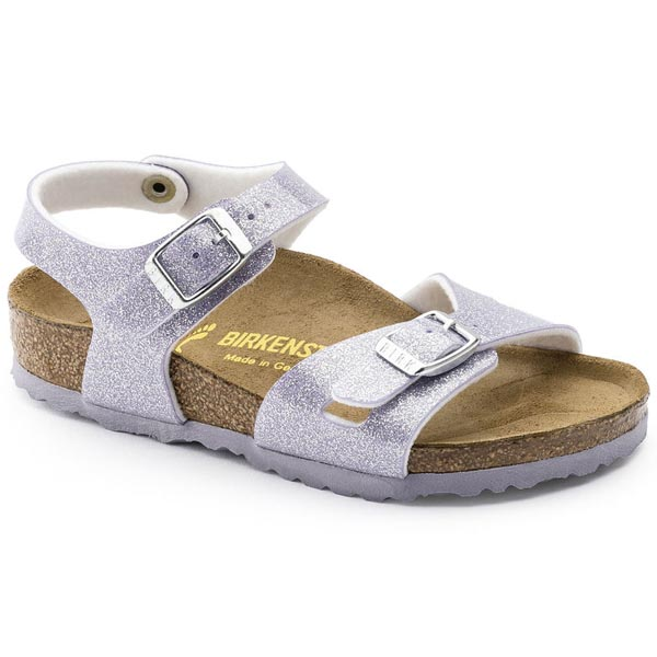 BIRKENSTOCK Rio Kids Magic Galaxy Lavender Birko-Flor Outlet Store