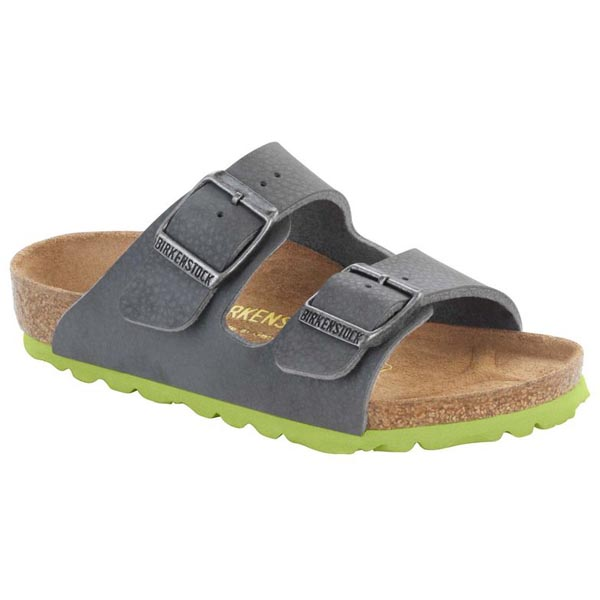 BIRKENSTOCK Arizona Kids Desert Soil Gray Birko-Flor Outlet Store