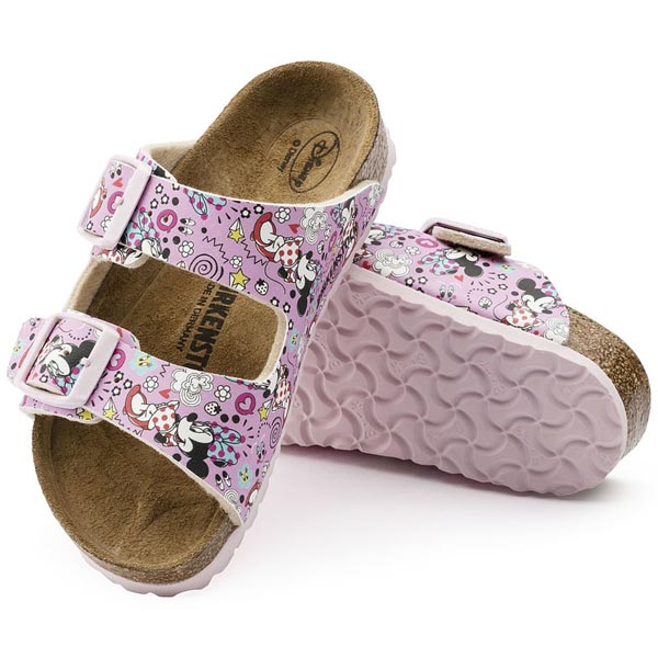 BIRKENSTOCK Arizona Kids Lovely Minnie Rose Birko-Flor Outlet Store