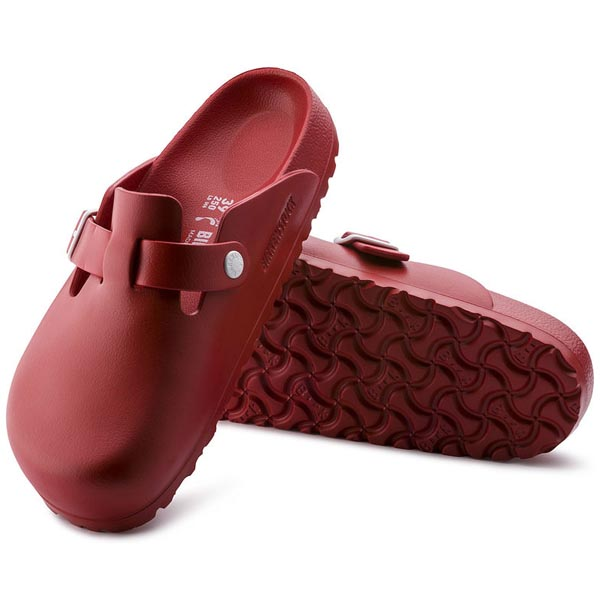 BIRKENSTOCK Boston Essentials Red EVA Outlet Store