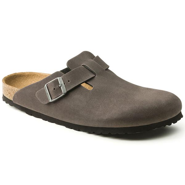 BIRKENSTOCK Boston Anthracite Microfiber Outlet Store