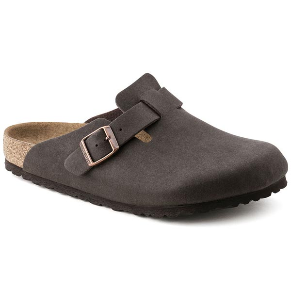 BIRKENSTOCK Boston Cocoa Brown Microfiber Outlet Store