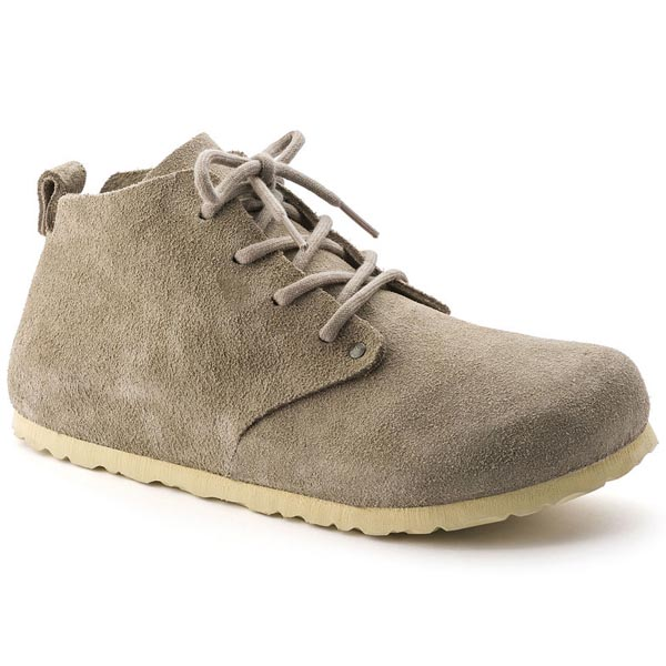 BIRKENSTOCK Dundee Taupe Suede Outlet Store