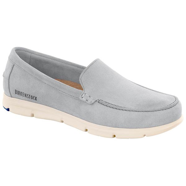 BIRKENSTOCK Domingo Light Grey Suede Outlet Store