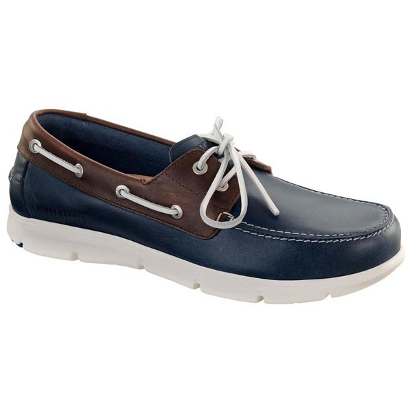 BIRKENSTOCK Idaho Navy/Cohiba Leather Outlet Store