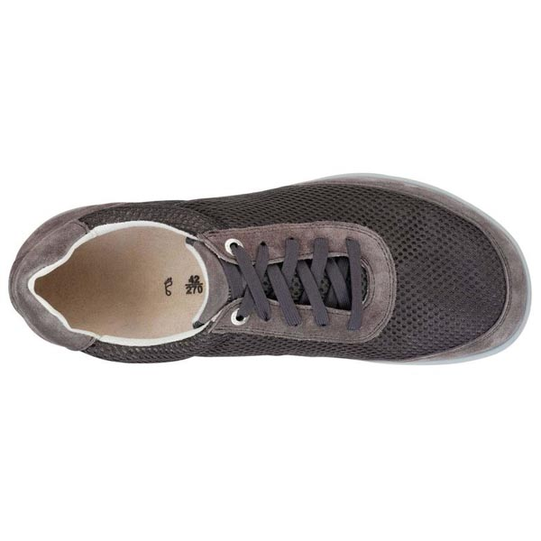 BIRKENSTOCK Illinois Grey Suede Leather/Textile Outlet Store