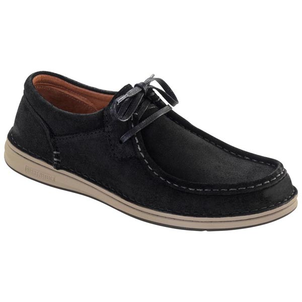 BIRKENSTOCK Pasadena Men Black Suede Outlet Store