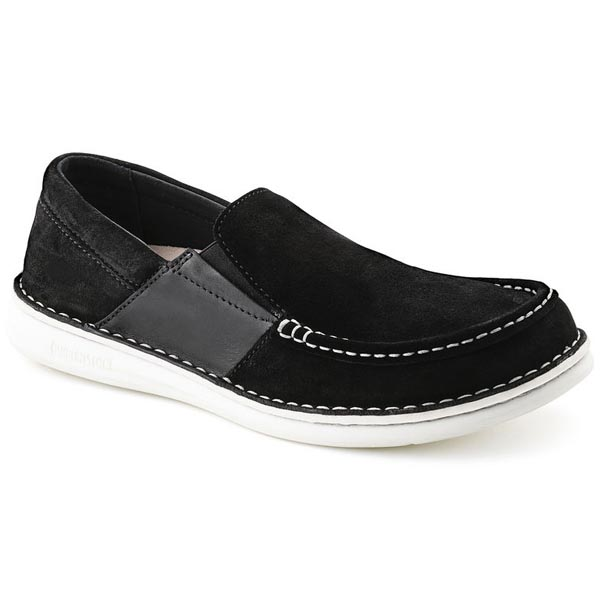 BIRKENSTOCK Duma Men Black Suede Outlet Store