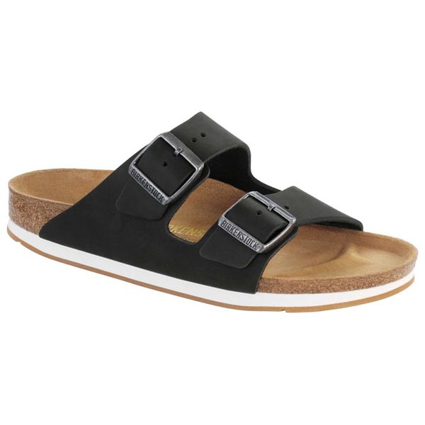 BIRKENSTOCK Arizona Black Oiled Leather Outlet Store
