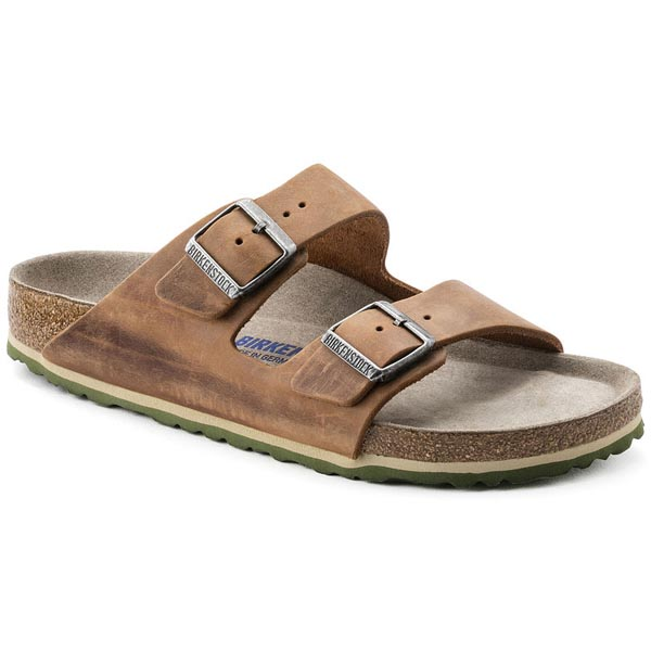 BIRKENSTOCK Arizona Soft Footbed Antik Brown Oiled Leather Outlet Store