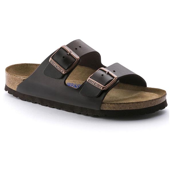 BIRKENSTOCK Arizona Soft Footbed Amalfi Brown Oiled Leather Soft footbed Outlet Store