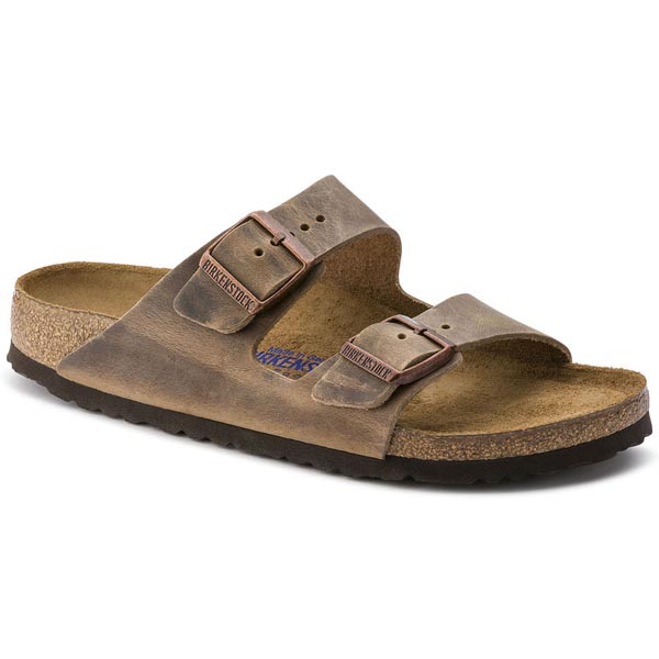 BIRKENSTOCK Arizona Soft Footbed Tobacco Oiled Leather Outlet Store