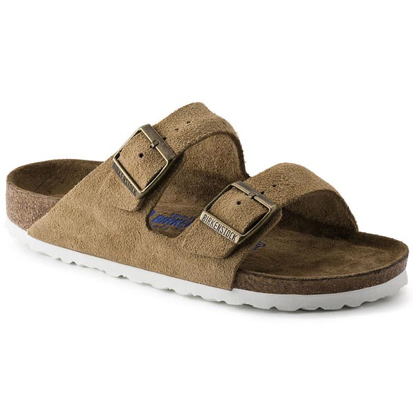 fd9864aedccf BIRKENSTOCK Arizona Brown Smooth Leather Soft footbed Outlet Store