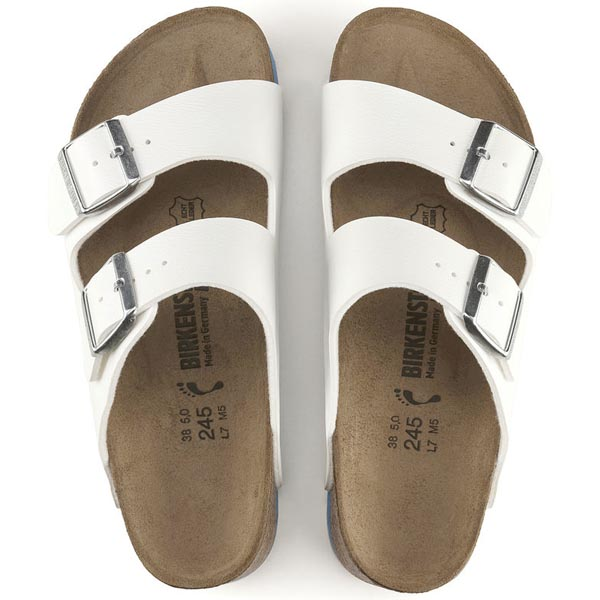 BIRKENSTOCK Arizona Super Grip White Birko-Flor Outlet Store