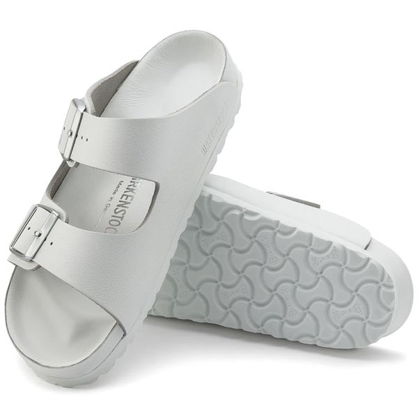 BIRKENSTOCK Monterey Exquisite White Leather Outlet Store