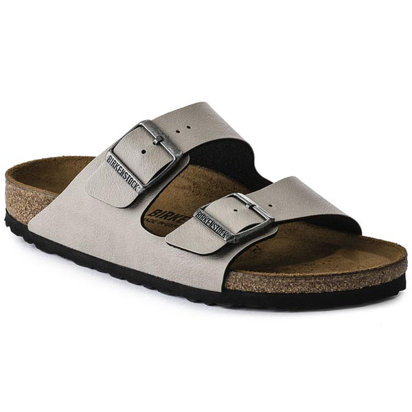 BIRKENSTOCK Arizona Pull Up Stone Birko-Flor Outlet Store