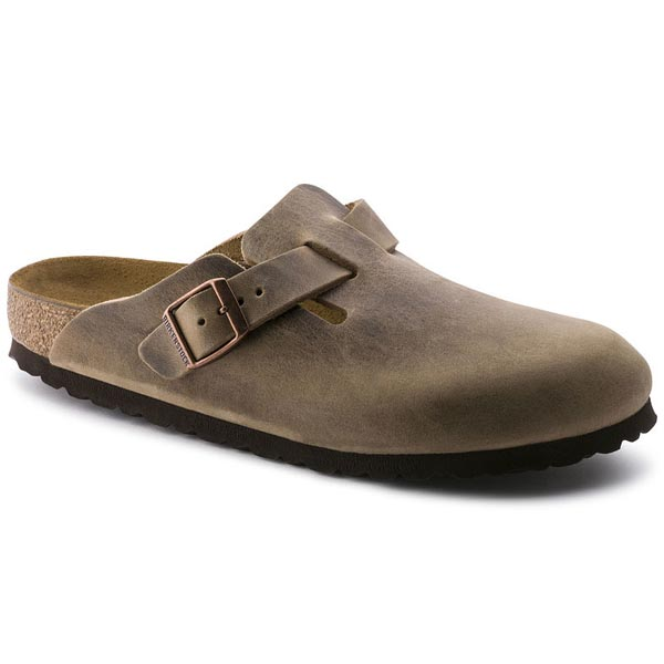 BIRKENSTOCK Boston Tabacco Brown Oiled Leather Outlet Store