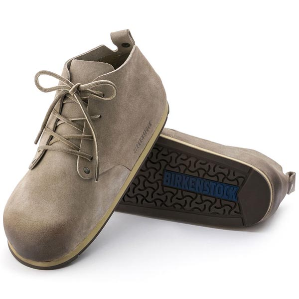 BIRKENSTOCK Dundee Sport Taupe Suede Outlet Store