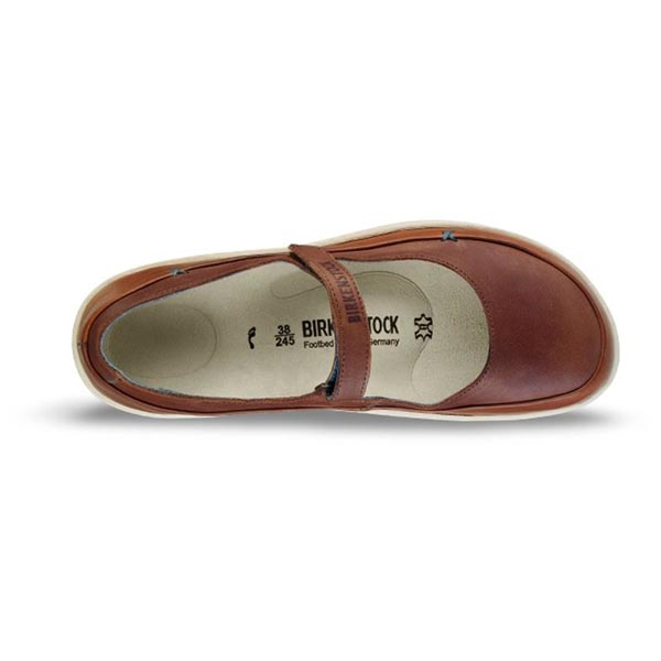BIRKENSTOCK Iona Nut - cream sole Leather Outlet Store