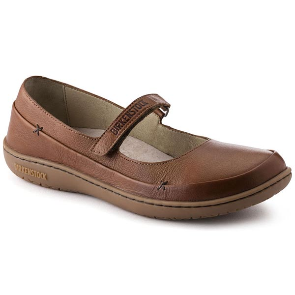 BIRKENSTOCK Iona Nut Leather Outlet Store