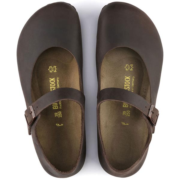 BIRKENSTOCK Mantova Habana Oiled Leather Outlet Store