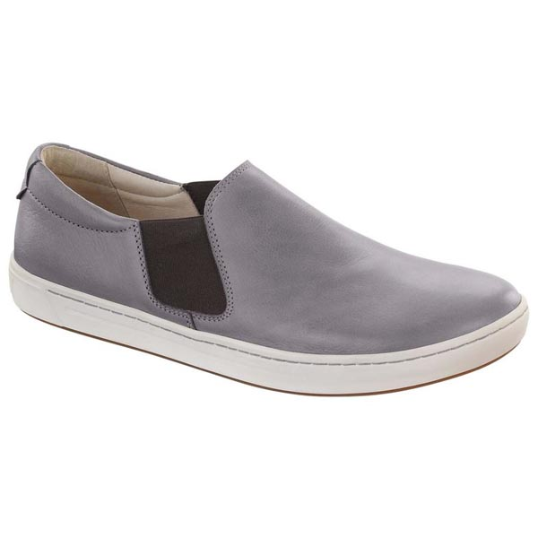 BIRKENSTOCK Barrie Women Grey Leather Outlet Store