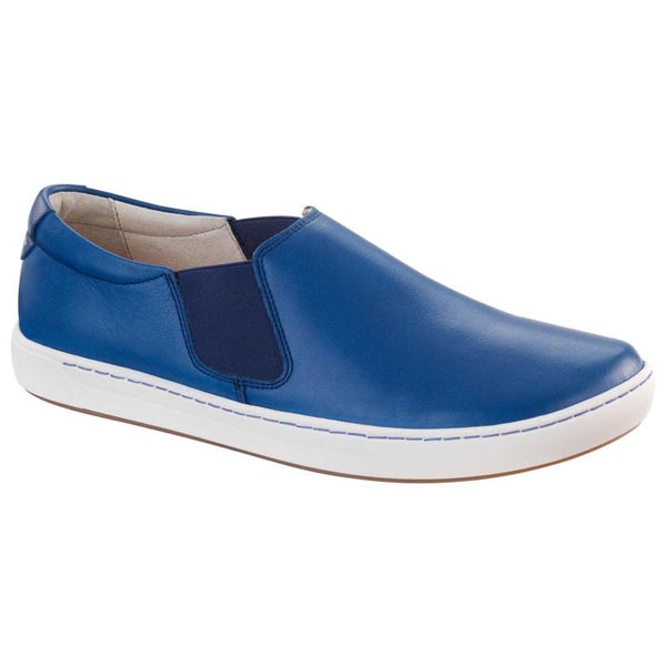 BIRKENSTOCK Barrie Women Blue Leather Outlet Store