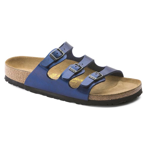 BIRKENSTOCK Florida Graceful Insignia Blue Birko-Flor Outlet Store