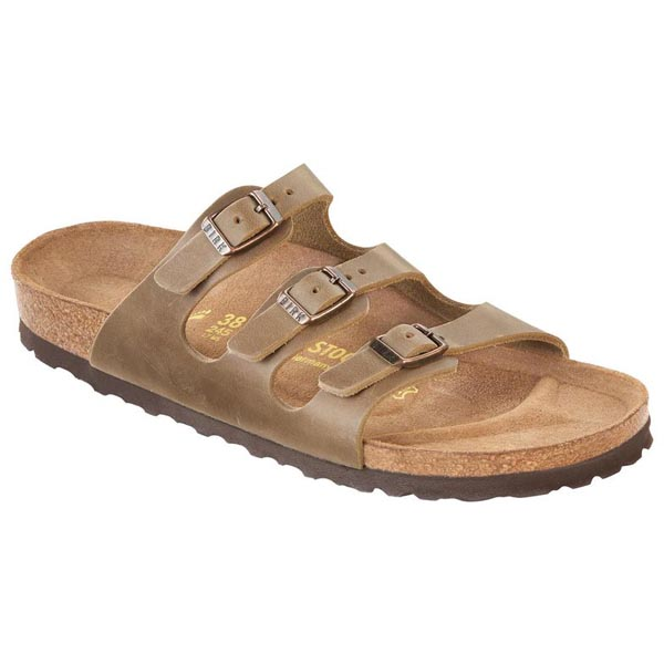 BIRKENSTOCK Florida Tobacco Brown Oiled Leather Outlet Store