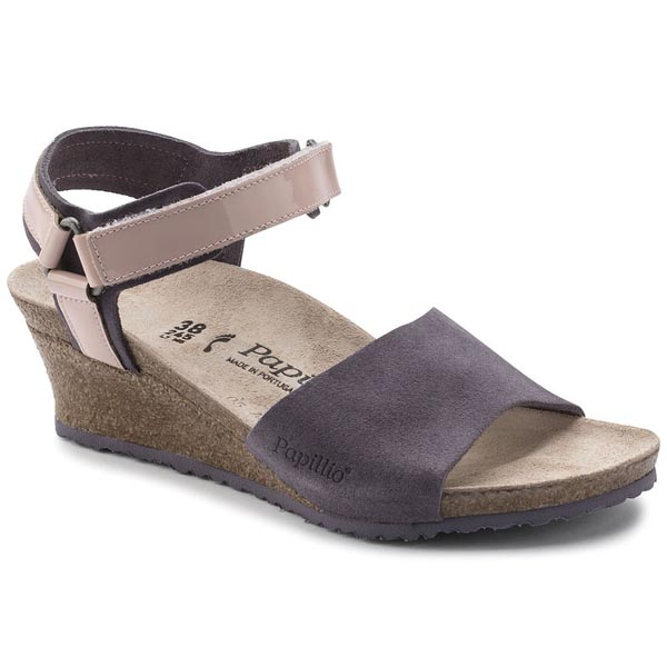 Papillio Eve Lilac Suede Outlet Store